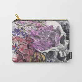 Headspace | Skull and Flowers Carry-All Pouch