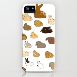 Bun Loafs iPhone Case