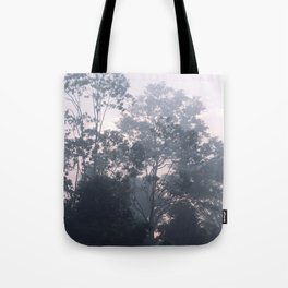 The mysteries of the morning mist Tote Bag