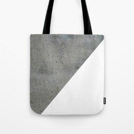 Concrete Vs White Tote Bag