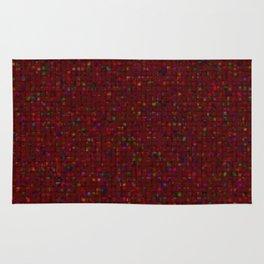 Antique Texture Garnet Rug