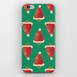 christmas strawberry iPhone Skin