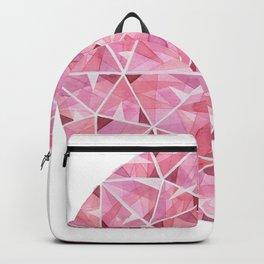 Red Round Gem Backpack