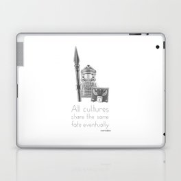 Rome - All Cultures Share the Same Fate Eventually Laptop & iPad Skin