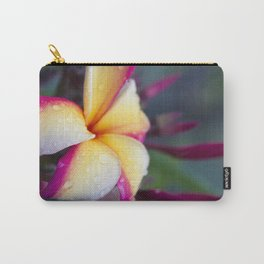 Hawaii Plumeria Flower Jewels Carry-All Pouch