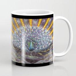 Powerful Cosmic Peackoc Coffee Mug