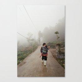 Hmong Woman Canvas Print