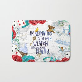 Alice in Wonderland - Imagination Bath Mat