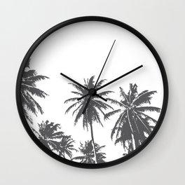 Palm Tree Bunch Wall Clock