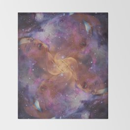 Celestial Orgasm Throw Blanket