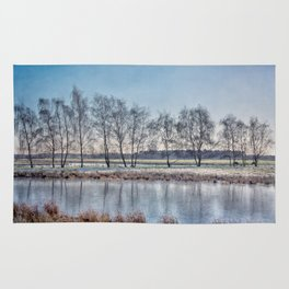 Winter in Holand Rug