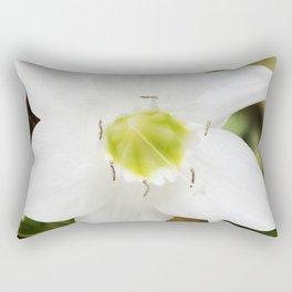 Amazon Lily Stamen Rectangular Pillow