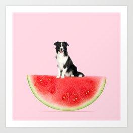 Melon Collie Art Print