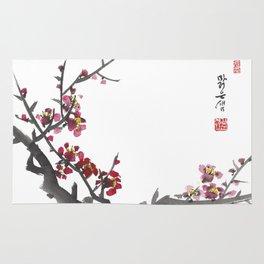 Plum Blossom One Rug