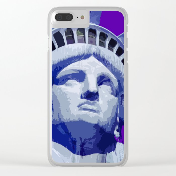 Liberty_2015_0405 Clear iPhone Case