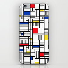 Map Lines Mond iPhone & iPod Skin