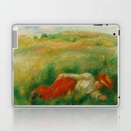 "Auguste Renoir ""Femme couchée dans l'herbe"" Laptop & iPad Skin"