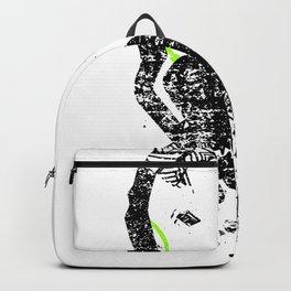 Art Headphones Backpack