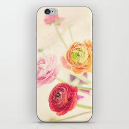 colorful spring iPhone Skin