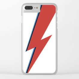 Bowie Bolt Clear iPhone Case