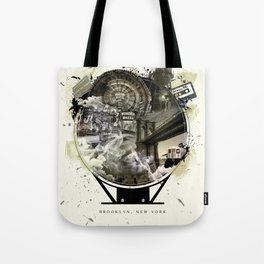 The Essence of Brooklyn Tote Bag