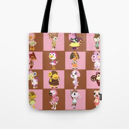 Animal Crossing: Chocolate Strawberry Tote Bag