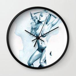 Erotica III Wall Clock