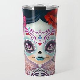 Amelia Calavera - Sugar Skull Travel Mug
