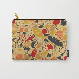 Food a background Carry-All Pouch