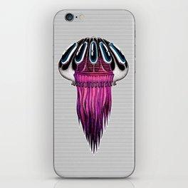 Pink Jellyfish iPhone Skin