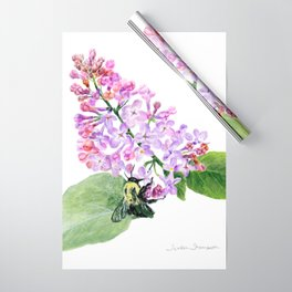 Lilac Love by Teresa Thompson Wrapping Paper