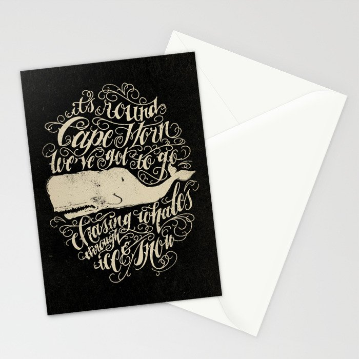 Cape Horn Stationery Cards