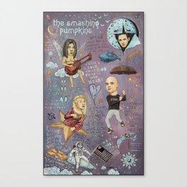 The Pumpkins - Spaceboy's Mellon Collie Dream Canvas Print