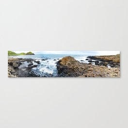 Giants Causeway Basalt Columns, Ireland Canvas Print