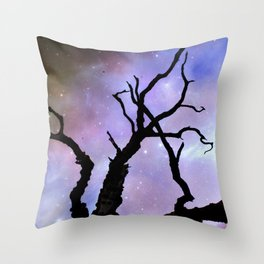 Doom comes from the sky Throw Pillow
