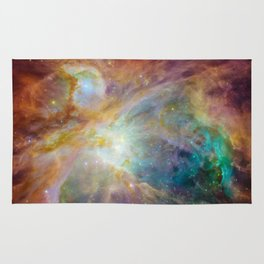 View of Orion Nebula Rug