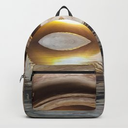 Lighted Water Tunnel Abstract Backpack