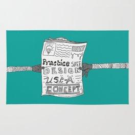 Safe Design illustration Rug