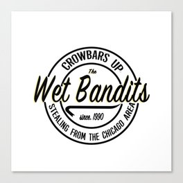 The Wet Bandits Canvas Print