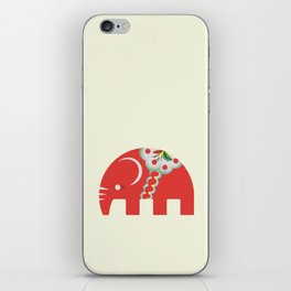 Swedish Elephant iPhone Skin