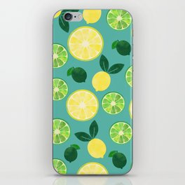 Lemon Lime iPhone Skin