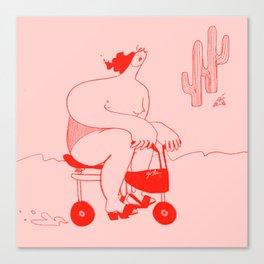 Desert drifter Canvas Print