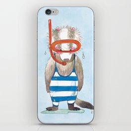 Badger Dietrich iPhone Skin