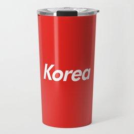 Korea Box Logo Travel Mug