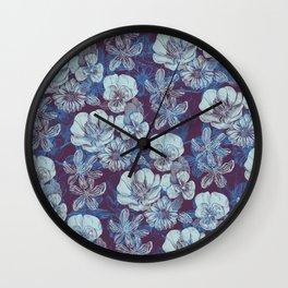 Veda Pattern Wall Clock
