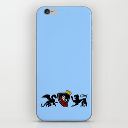 Merlin (Merthur) Crest iPhone Skin
