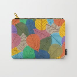 Leaves, Leaves, Leaves - Autumn is Coming - 57 Montgomery Ave Carry-All Pouch