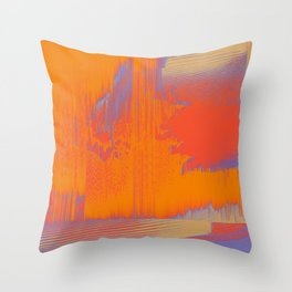 Over Cooked Throw Pillow