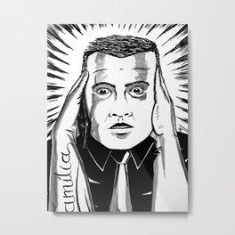 It make us deaf Metal Print