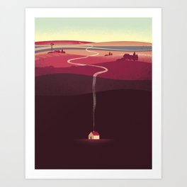 Long Way Home Art Print